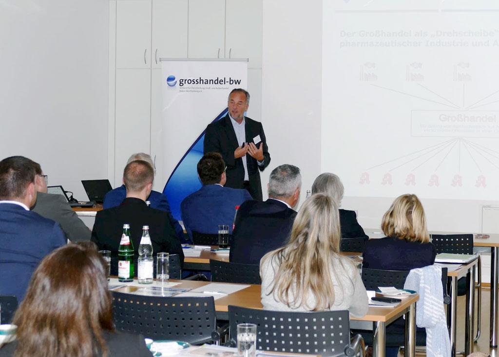 Dr. Udo Zimmermann, Geschäftsführer von Leopold Fiebig beim Forum Bidlung